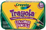 Crayola Trayola Colored Pencils - 54/Pkg
