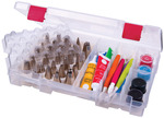"ArtBin Bakers Cupboard Decorating Supply Case-7.375""X10.75""X1.75"" Translucent W/"
