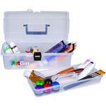 "14""X7""X5"" Clear - ArtBin Lift-Out Tray Box"