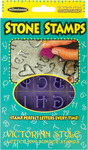 Victorian Style Letters & Numbers - Stone Stamps