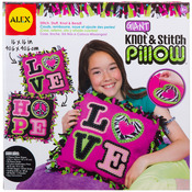 Giant Knot & Stitch Pillow Kit