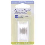 Silver,18 Gauge,4 Yards/Pkg - Artistic Wire Dispenser
