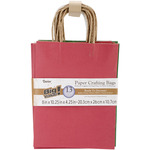 "Christmas Assorted - Paper Bags 4.25""X8""X10.25"" 13/Pkg"