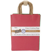 "Christmas Assorted - Paper Bags 4.25""X8""X10.25"" 13/Pkg"