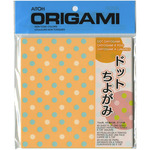 "Dot Chiyogami - Origami Paper 5.875""X5.875"" 40/Pkg"