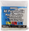 ".27""X4"" 100/Pkg - All Purpose Stik Mini Glue Sticks"