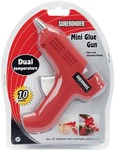 Red - Dual-Temp Mini Glue Gun