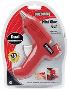 Red - Dual-Temp Mini Glue Gun