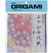"Floral Print - Origami Paper 5.875""X5.875"" 40 Sheets"