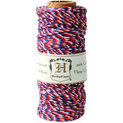 Americana - Hemp Variegated Cord Spool 20lb 205'/Pkg