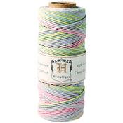 Baby Pastel - Hemp Variegated Cord Spool 20lb 205'/Pkg