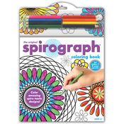 Spirograph Coloring Book W/Pencils
