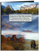 2010-2021 - America The Beautiful Commemorative Quarter Color Folder