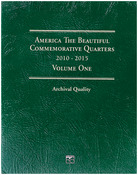 Volume One 2010-2015 - America The Beautiful Commemorative Quarter Folder