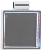 Square - Lisa Pavelka Silver Plated Bezel 1/Pkg