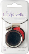 Round - Lisa Pavelka Silver Plated Bezel 1/Pkg