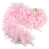 Light Pink - Chandelle Feather Boa 72""