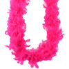 Hot Pink - Chandelle Feather Boa 72 inches MIDWEST DESIGN-Chandelle Feather Boa.  Ideal for embellishing formal wear, lingerie, handbags, shoes, plush animals and dolls. Add to Christmas ornaments for a Victorian look use for wedding prom or costumes.  Great quality, soft and light.  These boas are available in a variety of beautiful colors.   Each package contains one 2yd boa.   Imported.