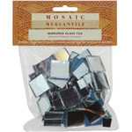 Square Assorted - Mirrored Glass Tile 100/Pkg
