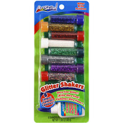 Glitter Shakers Ultra - Fine Glitter .19oz 8/Pkg-