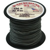 Gunmetal - Parachute Cord 1.9mm 100'/Pkg PEPPERELL-Parachute Cord 95. Use this cord for starting out a fun and new project using your favorite colors of cord! The cord is made of braided nylon and each strand measures about 2mm thick. The soft braided outer shell is durable, yet cushions, allowing this cord to be flexible, yet comfortable enough to wear against the skin. This package contains one 100ft roll of parachute cord. Available in a variety of colors, each sold separately. Made in USA.
