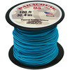 Turquoise - Parachute Cord 1.9mm 100'/Pkg PEPPERELL-Parachute Cord 95. Use this cord for starting out a fun and new project using your favorite colors of cord! The cord is made of braided nylon and each strand measures about 2mm thick. The soft braided outer shell is durable, yet cushions, allowing this cord to be flexible, yet comfortable enough to wear against the skin. This package contains one 100ft roll of parachute cord. Available in a variety of colors, each sold separately. Made in USA.