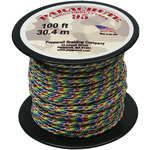 Tie-Dye/Rainbow - Parachute Cord 1.9mm 100'/Pkg
