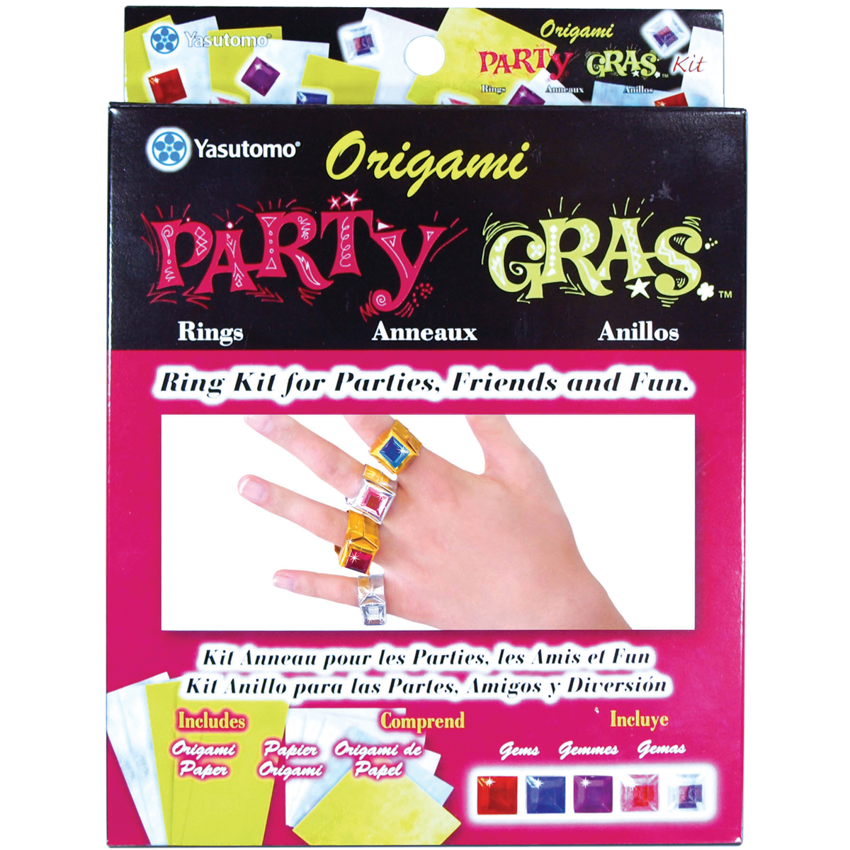 Origami Party Gras Ring Kit