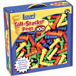 100/Pkg - Tall-Stacker Pegs