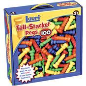 100/Pkg - Tall-Stacker Pegs