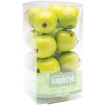 Mini Green Apples - Design It Simple Decorative Fruit 15/Pkg
