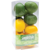 Mini Lemons and Limes - Design It Simple Decorative Fruit 13/Pkg
