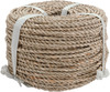Approximately 210' - Basketry Sea Grass #1 3mmX3.5mm 1lb Coil COMMONWEALTH MFG-Basketry Sea Grass. Seagrass is a twine-like material that has been twisted to resemble rope. It is made of a natural straw-like product which is variegated green and tan in color.  The green color will turn brown with age. It can be dyed. It is used for seat weaving some furniture and basketry. This package contains 1lb of #1 3x3-1/2mm Sea Grass (approximately 210ft). Imported.