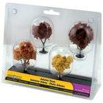 "Autumn Trees 2"" To 3"" 4/Pkg-"