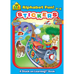 Alphabet Fun Grades P-K - Sticker Workbook