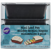 Mini Loaf Pans 3/Pkg Wilton-Mini Loaf Pans. Create fun mini breads for every occasion! This package contains three 5-3/4x3x2 inch mini loaf pans. Dishwasher safe. Imported.