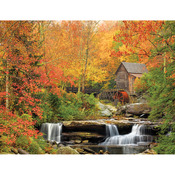 """Old Grist Mill - Jigsaw Puzzle 1000 Pieces 24""""X30"""""""