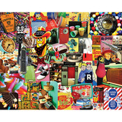 "Retro, Retro, Retro - Jigsaw Puzzle 1000 Pieces 24""X30"""