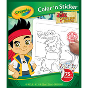 Jake And The Never Land Pirates - Color 'N Sticker Book