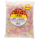 Assorted Glow - Glow In The Dark Pony Beads 9mm 1lb Bag