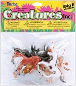 Horses 8/Pkg - Creatures Inc.