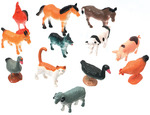 Farm Animals 12/Pkg - Creatures Inc.