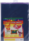 """Fashion Colors - Foam Sheets 12""""X18"""" 12/Pkg"""