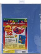 """Fashion Colors - Sticky Back Foam Sheets 9""""X12"""" 12/Pkg"""
