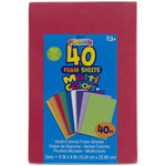 """Foam Sheets 6""""X9"""" 40/Pkg"""