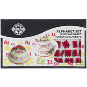 Lower And Uppercase Alphabet - Plastic Cutter Set 64pc