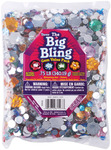 Round With Flower Rhinestone Shapes - The Big Bling