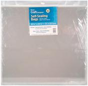 "20.25""X24.25"" - Self Sealing Bags 10/Pkg"