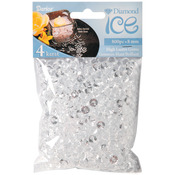 Clear - Diamond Ice Gems 8mm/4 Carat 800/Pkg