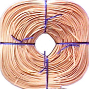 Approximately 320' - Flat Oval Reed 4.37mm 1lb Coil